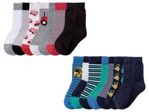 LUPILU® Kleinkinder Socken Jungen, 7 Paar, mit Baumwolle