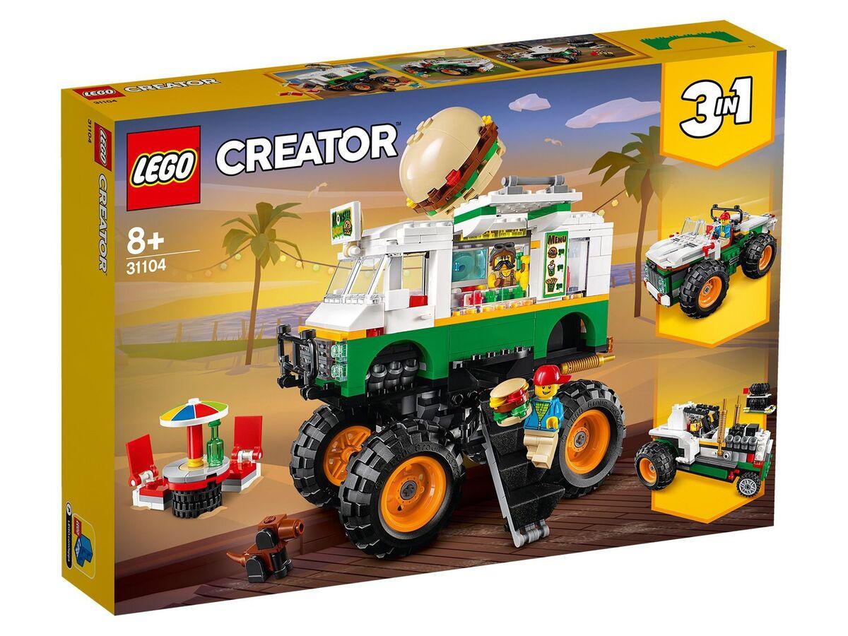 Bild 1 von LEGO® Creator 31104 »Burger-Monster-Truck«