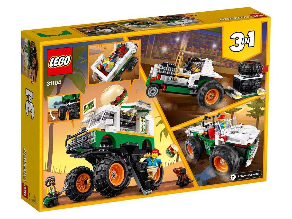 Bild 2 von LEGO® Creator 31104 »Burger-Monster-Truck«