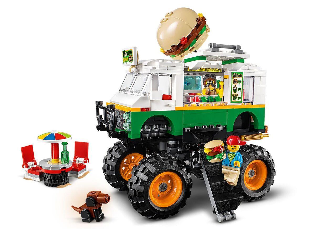 Bild 3 von LEGO® Creator 31104 »Burger-Monster-Truck«