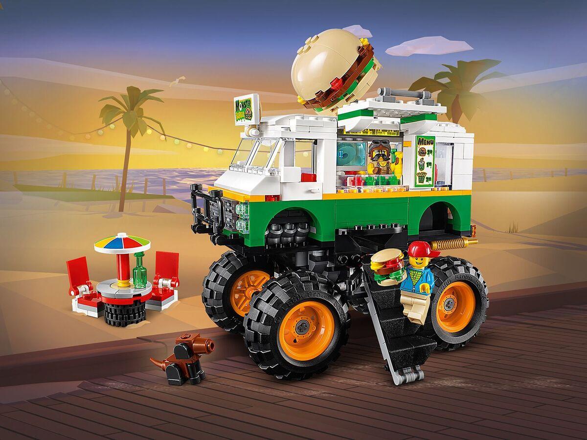 Bild 4 von LEGO® Creator 31104 »Burger-Monster-Truck«