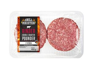 Grillmeister Double Quarter Pounder