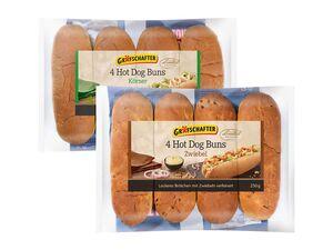 Grafschafter Hot Dog Brötchen