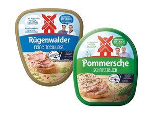 Rügenwalder Mühle Original Pommersche Gutsleberwurst/Teewurst