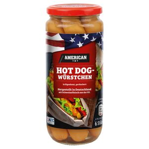 AMERICAN Hot Dog-Würstchen 300 g
