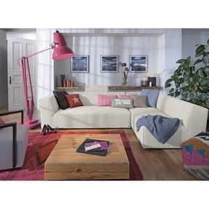 home24 Tom Tailor Recamiere Elements Hellbeige 100% Polyester 190x99 cm (BxT) Modern