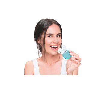 MAXXMEE Schall-Zahnbürste 360° automatisch 3,7V weiß/türkis