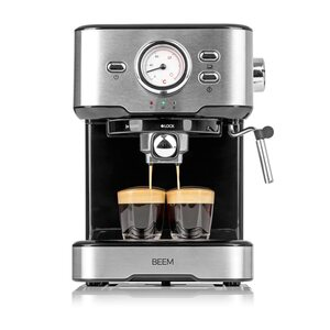 BEEM ESPRESSO-SELECT Espresso-Siebträgermaschine - 15 bar schwarz, Mehrfarbig