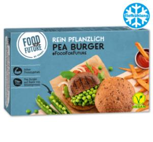 FOOD FOR FUTURE Pea Burger vegan