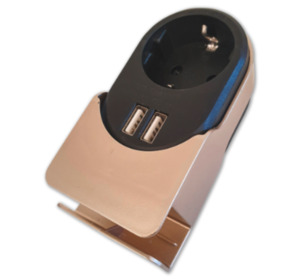 Design-Steckdosenadapter