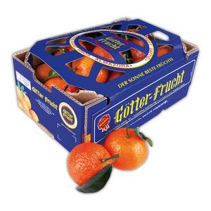 Götter Frucht Premium Clementinen mit Blatt