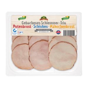 GUT DREI EICHEN     Gebackenes Schlemmer-Trio
