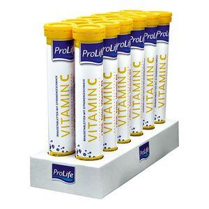 ProLife Vitamin C Brausetabletten 102 g, 12er Pack