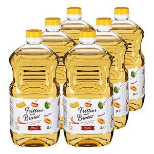 Vegola Frittier- und Bratöl 2 Liter, 6er Pack
