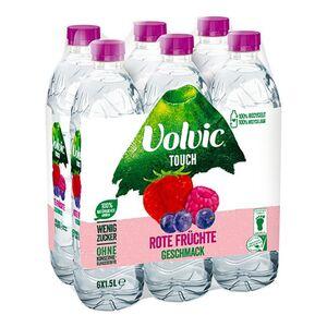 Volvic Rote Früchte 1,5 Liter, 6er Pack