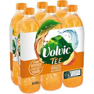 Volvic Tee Creation Pfirsich 1,5 Liter, 6er Pack