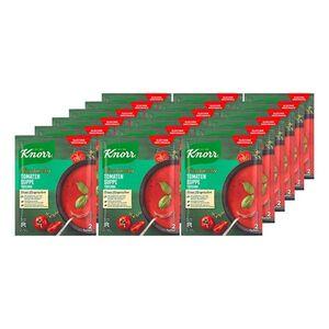 Knorr Feinschmecker Tomatensuppe Toscana ergibt 0,5 Liter, 18er Pack