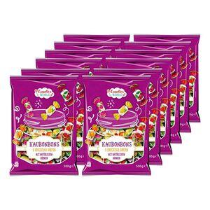 Candies World Kaubonbons 500 g, 12er Pack