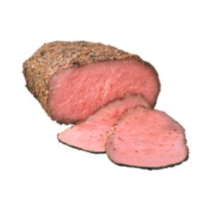 Deutscher gebratener Roastbeef-Aufschnitt