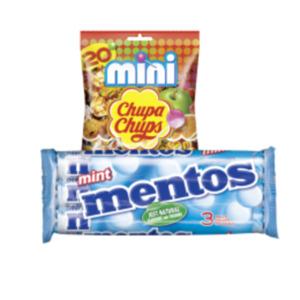 Mentos 3er oder Chupa Chups Lutscher