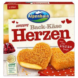 Alpenhain Back-Käse-Herzen 240 g