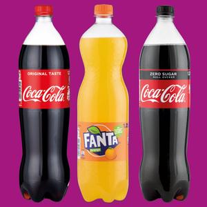 Cola/ Fanta/ Sprite/ MezzoMix Erfrischungsgetränk
