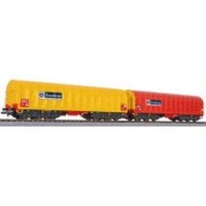 Liliput L230153 H0 2er-Set Coil-Transportwagen VI