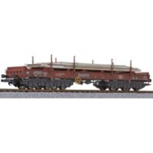Liliput L235762 H0 Coilwagen mit Stahlplatten DB A