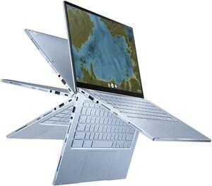 """ChromeBook Flip C433TA-AJ0140 35,56 cm (14"""") 2 in 1 Convertible-Notebook silber"""