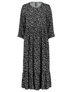 Damen Stufenkleid aus Viskose
