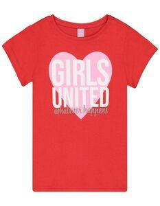 Mädchen T-Shirt mit Message-Print