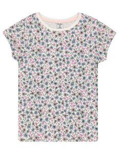 Mädchen T-Shirt mit floralem Muster