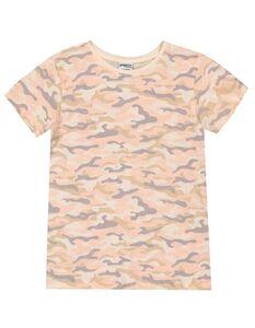 Mädchen T-Shirt mit Camouflagemuster