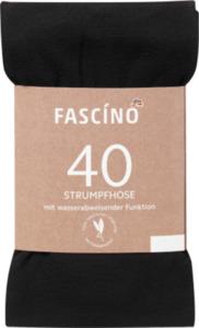 FASCÍNO Strumpfhose Skin Dry 40 den, schwarz, Gr. 42/44
