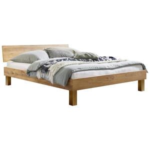 Hasena Bett wildeiche massiv , Forti , Eichefarben , Holz , 180x200 cm , geölt,Echtholz , in verschiedenen Holzarten erhältlich, in verschiedenen Größen erhältlich,in verschiedenen Holzarten erh