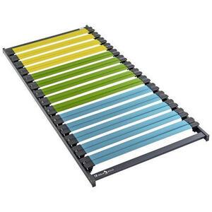 Dunlopillo Lattenrost , Click & Sleep , Holz , Birke, Buche , 90x200 cm , Über- und Sondergrößen erhältlich, bewegliche Leistenlagerung, individuelle Liegehärteeinstellung, nicht verstellbar, al