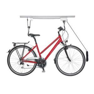 Fahrradlift Decke silber