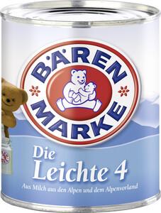 Bärenmarke Kondensmilch Die Leichte 4% Fett 340 g