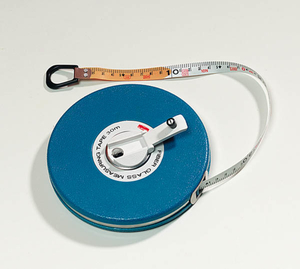 Fiberglas Rollmaßband mit Kurbel im Kunststoffgehäuse 30 m