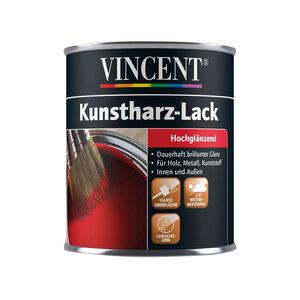"Vincent              Kunstharzlack ""anthrazit"", Hochglänzend, 0,375 L"