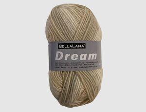 Strickgarn Dream beige gemustert