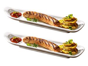 Villeroy & Boch Würstchenteller 2er-Set BBQ