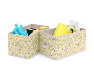 2 Schubladen-Ordnungsboxen, klein