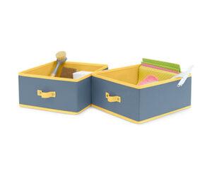 2 Schubladen-Ordnungsboxen, groß