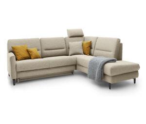 ADA AUSTRIA premium Sitzgruppe »Messina«, sandbraun, rechts, inkl. Altmöbel-Mitnahme