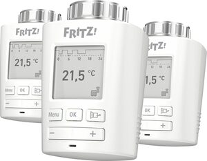 AVM »FRITZ!DECT 301 Heizkörperregler (3er Set)« Smartes Heizkörperthermostat