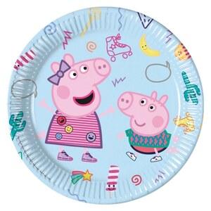 Peppa Pig 8 Pappteller