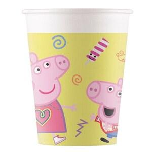 Peppa Pig Pappbecher, 200 ml
