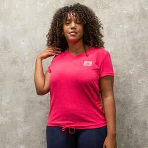 Adidas T-Shirt Designed2Move Damen rosa