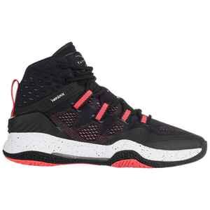 Basketballschuhe SC500 High Damen schwarz